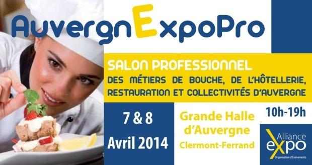 V nements venir auvergnexpopro salon professionnel - Salon de la restauration collective ...