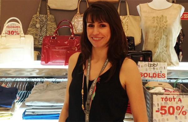 Véronique Taillandier, gérante de la boutique LPB les P'tites Bombes