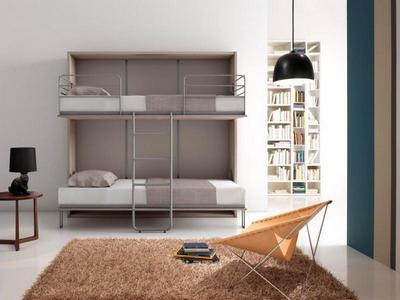 Pourquoi installer des lits escamotables dans un logement en station de ski - Lits superposes adultes ...