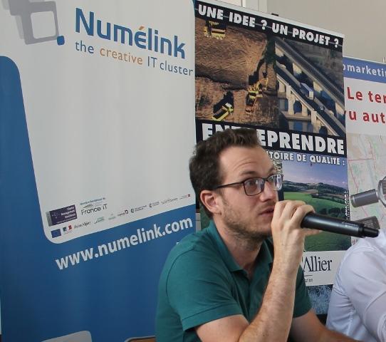 Numélink Auvergne en conférence à Vichy : regrouper les entreprises du numérique