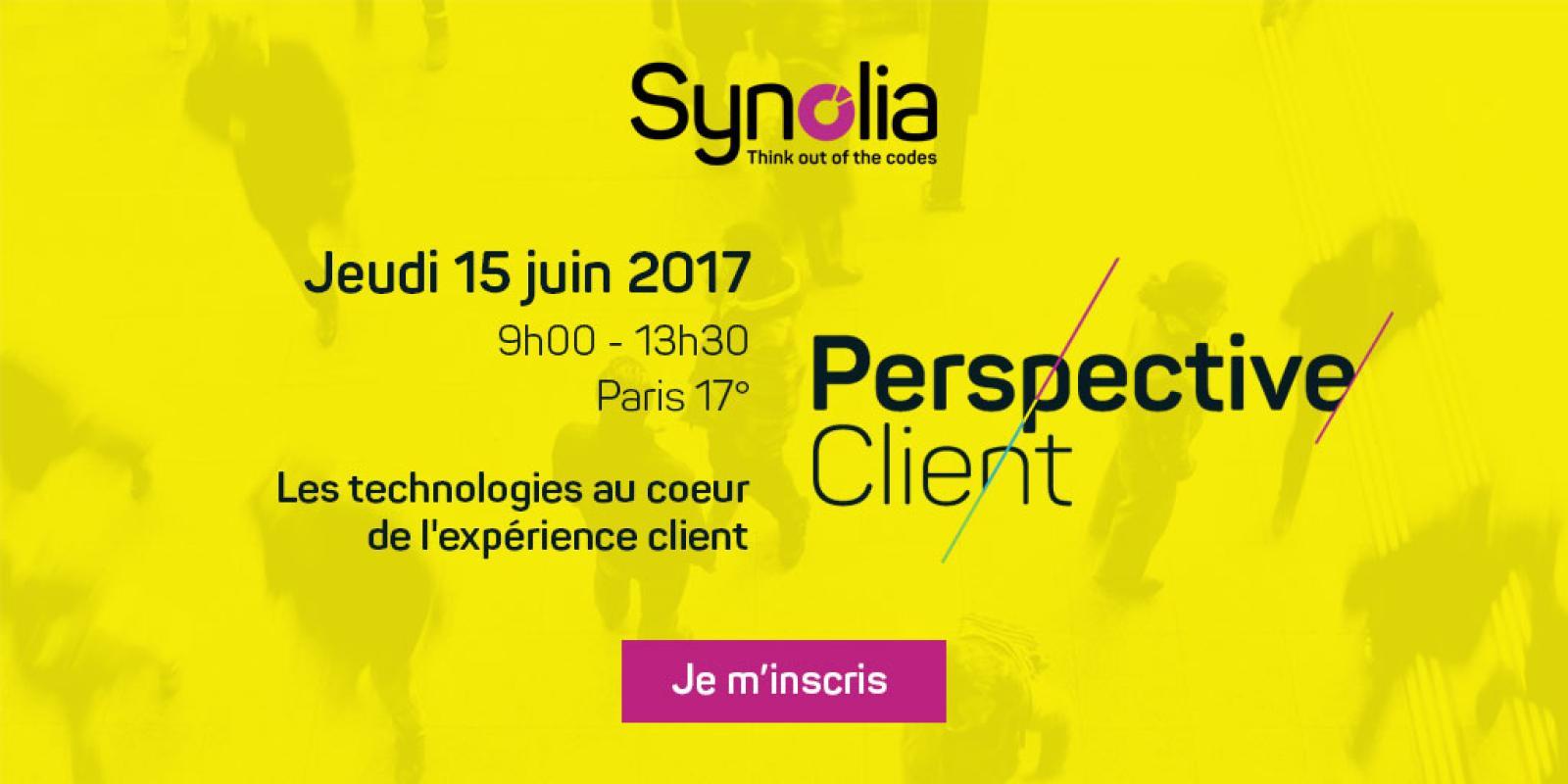 Perspective Client – Les technologies au cœur de l'expérience client