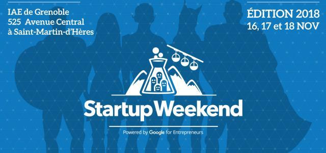 Startup Weekend Grenoble : 8e édition du 16 au 18 novembre !