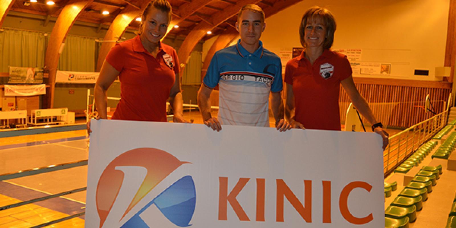 La société Kinic renouvelle son soutien au Volley-Ball Club de Chamalières
