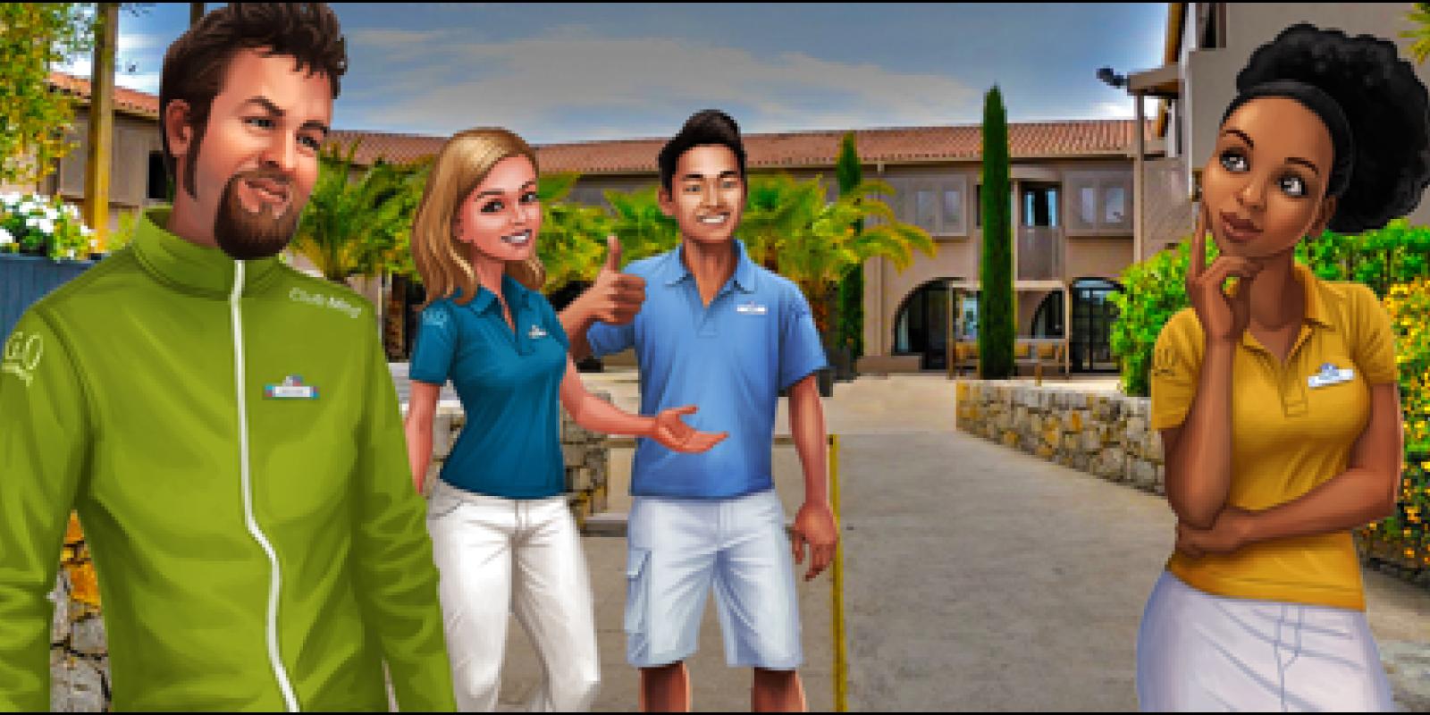 Le Club Med d'Opio opte pour la gamification
