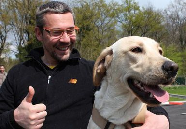 Christophe Manhes, l'homme qui murmurait à l'oreille des chiens…