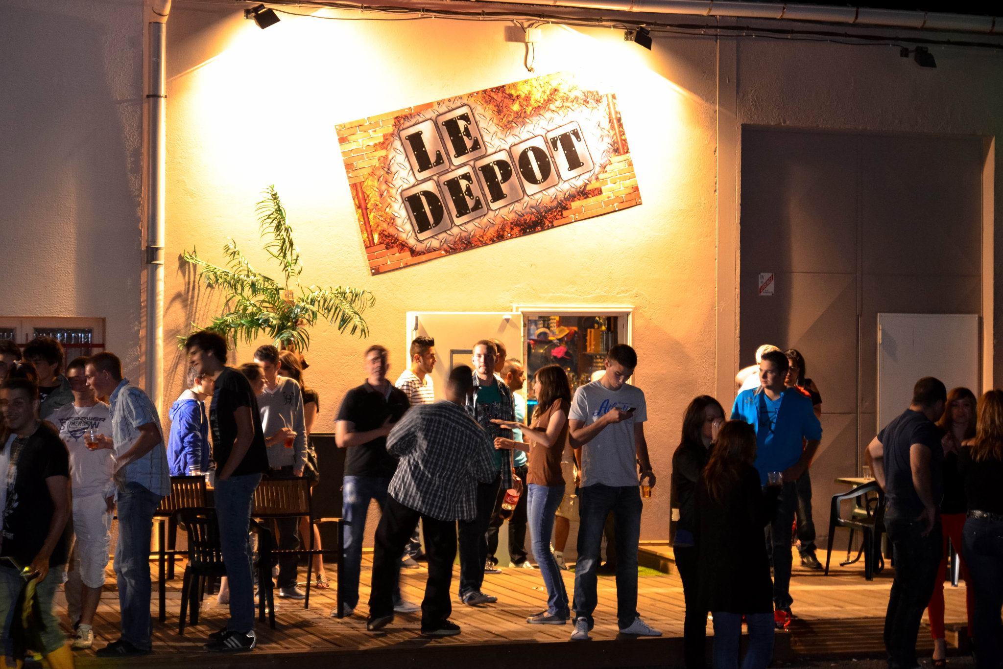 Bar Le Dépôt : 300 m² dédiés à la fête