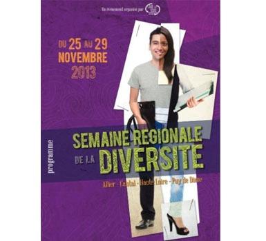 2e édition de la Semaine régionale de la Diversité du 25 au 29 novembre 2013