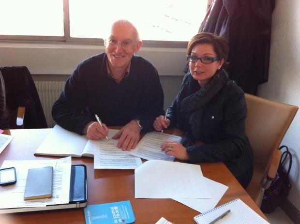 Le Journal de l'éco signe une convention de partenariat avec ECTI