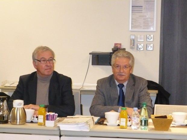 Jean-Michel REBERRY rencontre les Présidents de l'INTERCLUBS