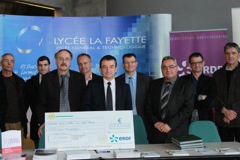 ERDF réaffirme son engagement pour la formation des jeunes en Auvergne