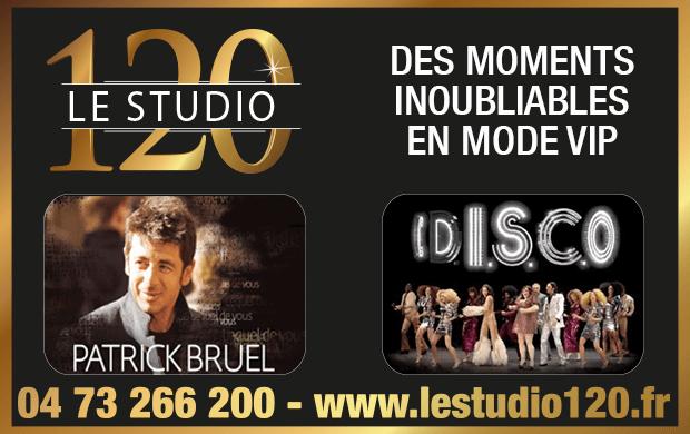 Cadeaux d'entreprises : Le studio 120 lance ses packages VIP pour profiter au mieux des concerts !