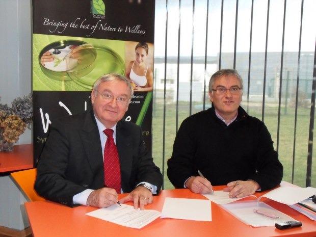 CCEF Comité Auvergne et NUTRAVITA : un pas supplémentaire vers le développement à l'international