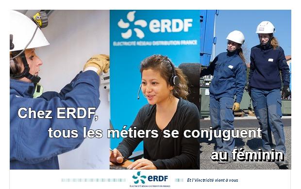 ERDF : « la mixité femmes-hommes, une richesse pour l'entreprise »