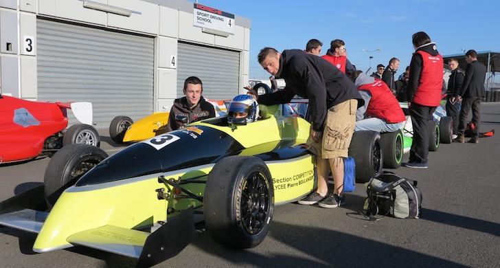 Le lycée Pierre Boulanger accueilli à l'Auto Sport Academy au Mans