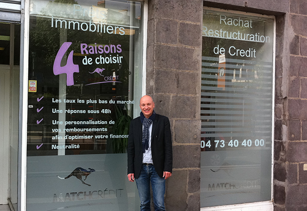 Match Crédit Clermont-Ferrand :  « 30 % des particuliers font appel à un courtier pour emprunter »