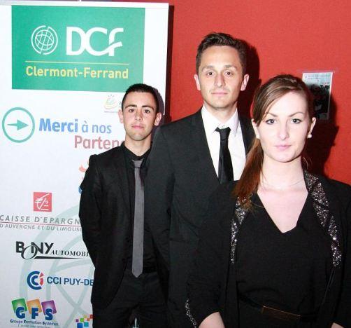 Remise des prix du Concours National de la Commercialisation par les DCF Clermont-Ferrand