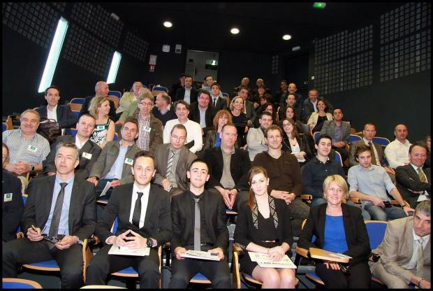 Intronisations et intelligence économique aux DCF Clermont-Ferrand