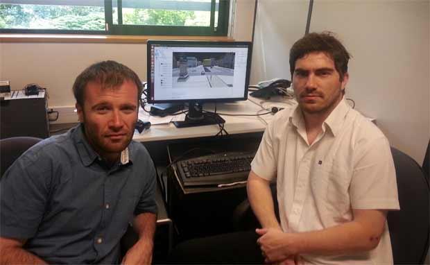 4 D – VIRTUALIZ : Pierre DELMAS et Florent MALARTRE, des chercheurs créateurs, du virtuel au réel industriel