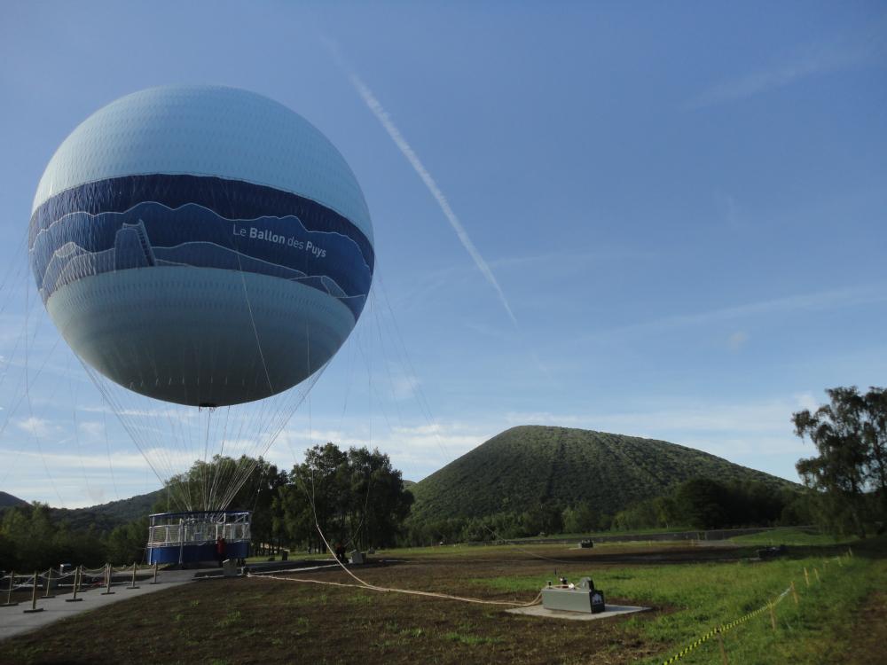 montgolfiere vulcania