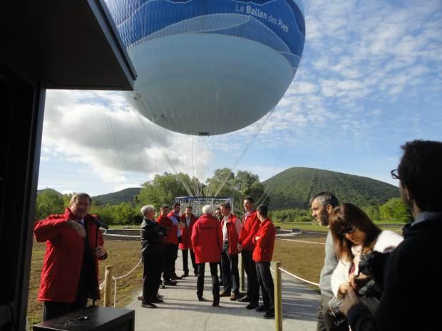 Le Ballon des Puys attend ses passagers à Vulcania
