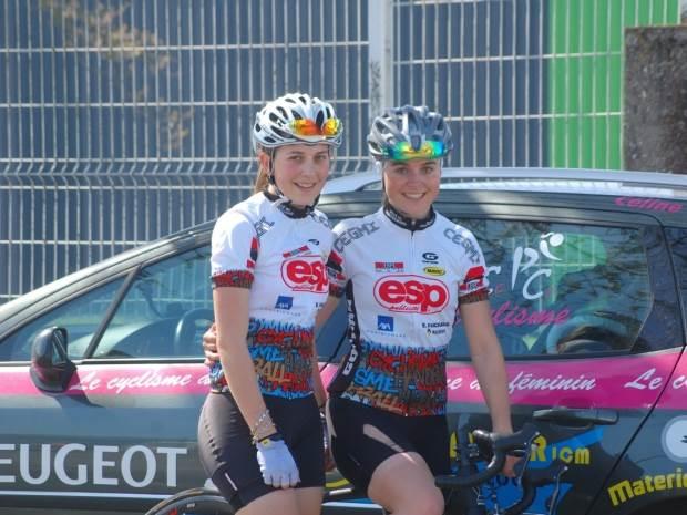 Clémence et Céline Ondet : deux clermontoises dans le classement des meilleures cyclistes françaises