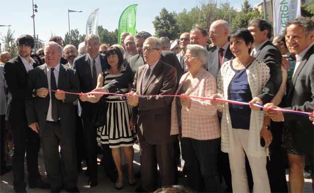 Inauguration de l'Hôtel de Région : le rapprochement avec Rhônes-Alpes affiché