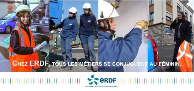 Chez ERDF, tous les métiers même techniques se conjuguent au féminin !