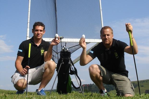 1er parcours de GolfCross en France aux Portes du Sancy