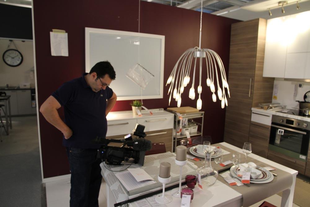 vid o d couvrez les locaux d 39 ikea clermont ferrand le journal de l 39 co. Black Bedroom Furniture Sets. Home Design Ideas