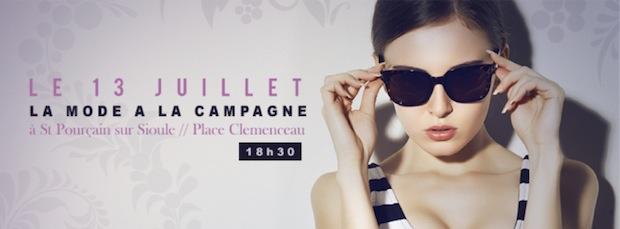 The Fashion Session le 13 juillet à Saint-Pourçain-sur-Sioule : une atmosphère fashion à la campagne !
