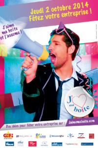 « J'aime ma boîte » : 12e Fête des Entreprises dans toute la France le 2 octobre 2014 !