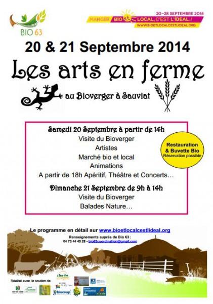 Les Arts En Ferme Bio Et Local Cest LidalR Auvergne