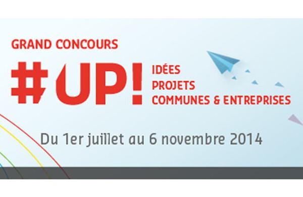 Grand concours #UP ! : Auvergne Nouveau Monde fait appel à la créativité de tous les acteurs de la région !