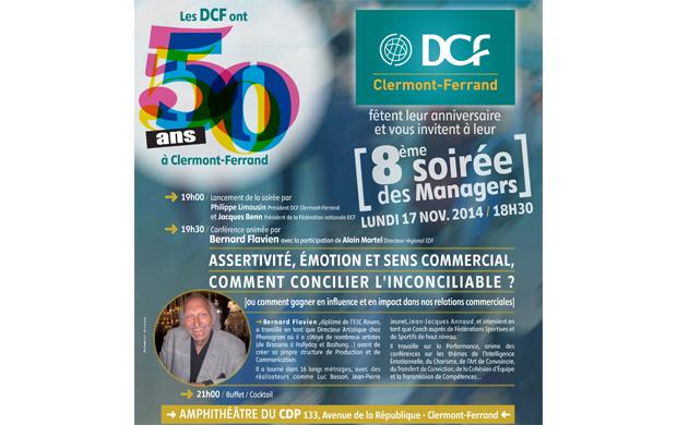 Les DCF vous invitent à leur 8ème soirée des Managers !