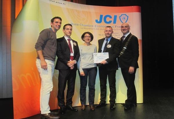 INO RECYCLAGE, entreprise clermontoise lauréate nationale du concours européen de l'entreprise exemplaire et innovante (C2EI)