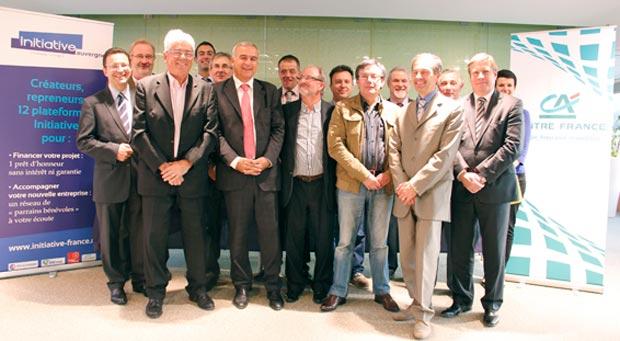 Le Crédit Agricole Centre France et le réseau associatif « Initiative Auvergne » signent une convention en faveur de la dynamique entrepreneuriale sur le territoire auvergnat