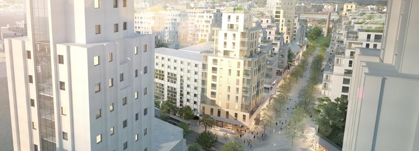 Villeurbanne : l'opération urbaine Gratte-ciel-centre-ville se concrétise