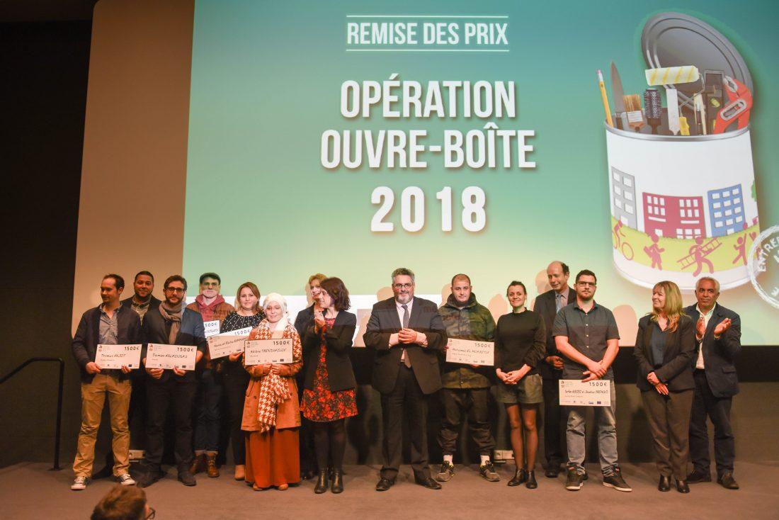 """8 entrepreneurs mis à l'honneur avec le concours """"Ouvre-Boîte"""" 2018"""