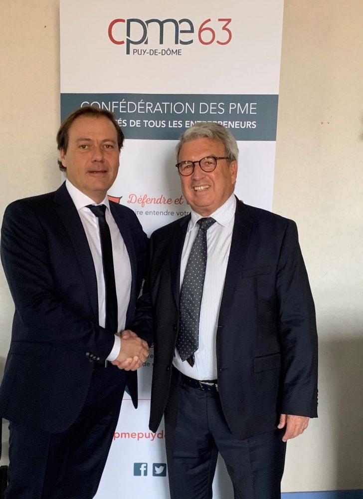 Jean-Philippe Paillon, nouveau président de la CPME 63