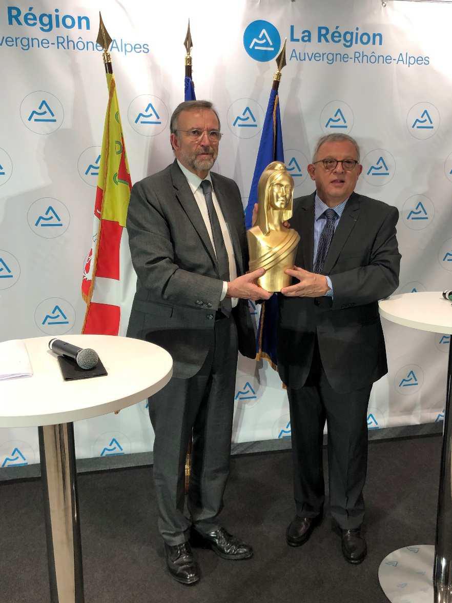 Transition écologique : Auvergne-Rhône-Alpes reçoit la « Marianne d'Or »