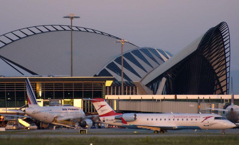 De plus en plus de passagers au départ de l'aéroport de Lyon