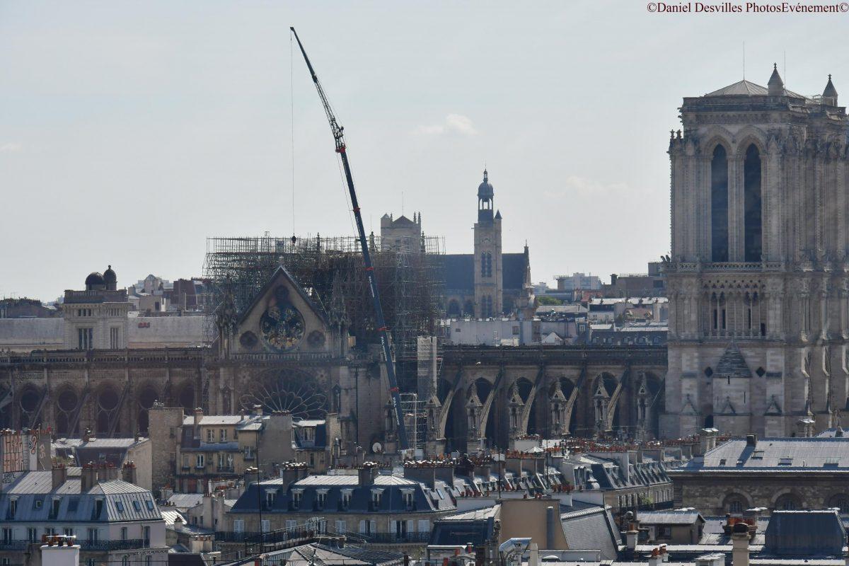 Les artisans d'art de la région à disposition de Notre-Dame