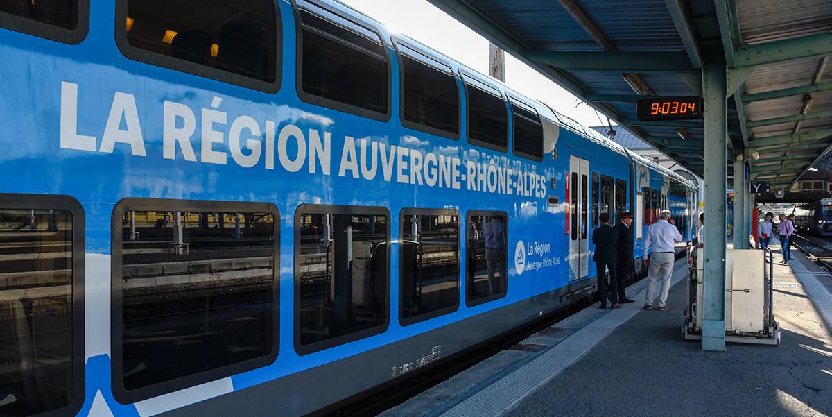 Amélioration de l'offre ferroviaire en AURA