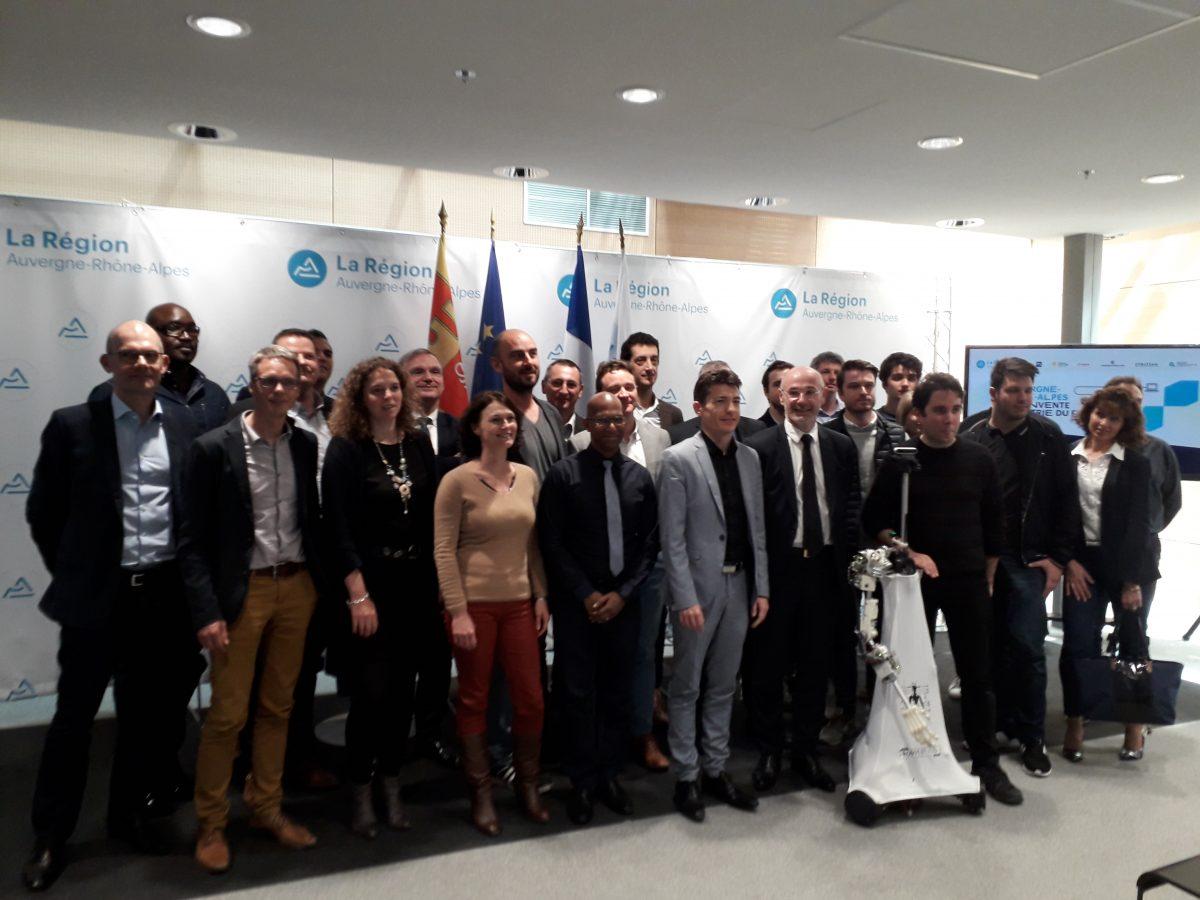 Une délégation Auvergne-Rhône-Alpes se rend à Vivatech
