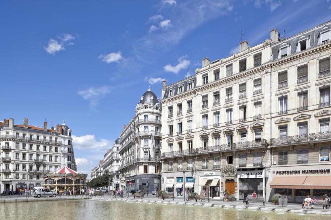A Lyon, la presqu'île est en voie de «piétonnisation»