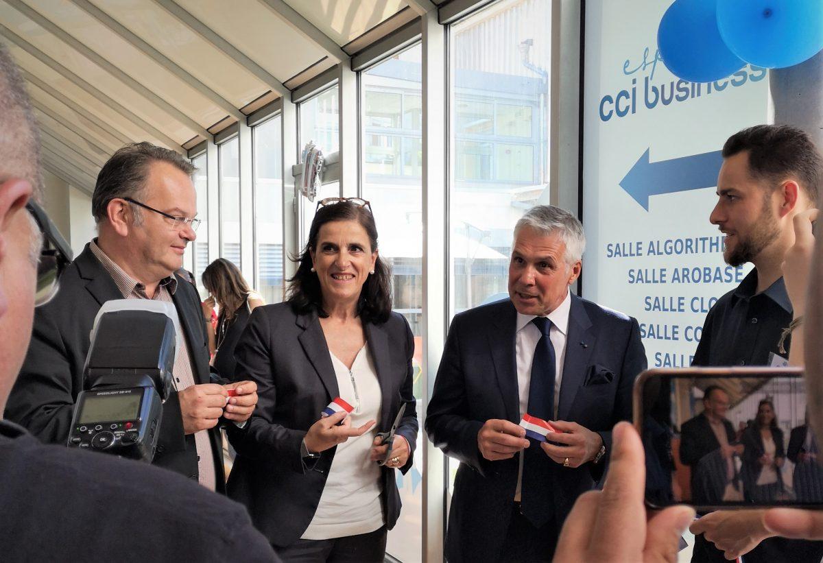 Un nouvel espace business à la CCI