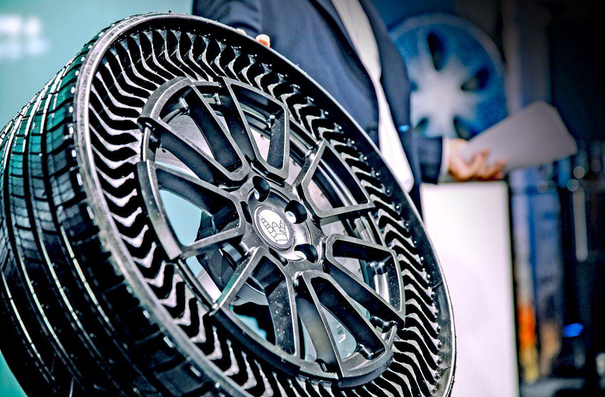 Le pneu increvable et sans air est né