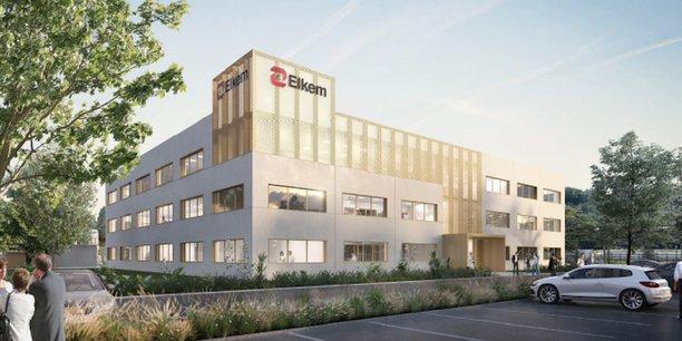 Nouveau centre de recherche dans la vallée de la chimie de Lyon
