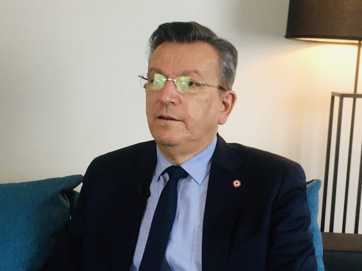 Michel Fanget présente sa vision de l'économie et de l'entreprise