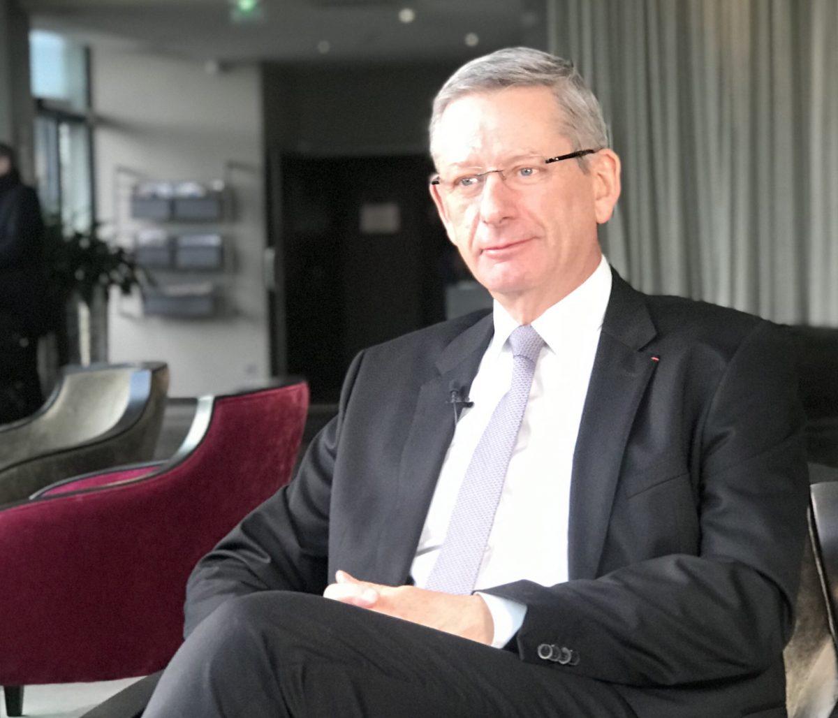 Éric Faidy présente sa vision de l'économie et des entreprises